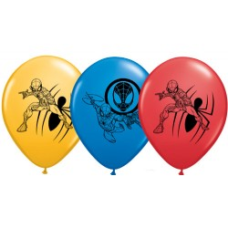Hélium - Ballon latex 11 po - Spiderman