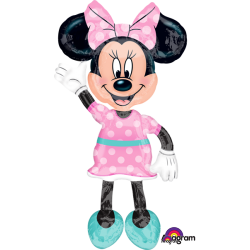 Ballon Airwalkers 54 po - Minnie