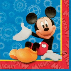 Serviettes de table Mickey Mouse