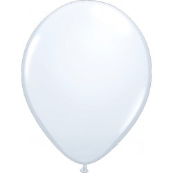 Ballon latex 5 po Blanc / sac de 100
