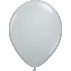 Ballon latex 5 po Gris  / sac de 100