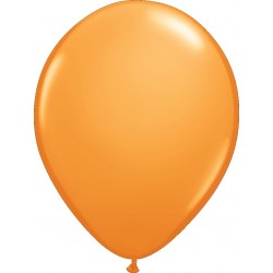 Ballon latex 5 po Orange / sac de 100