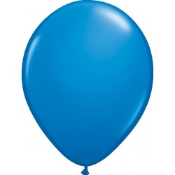 Hélium - Ballon latex 11 po - Bleu