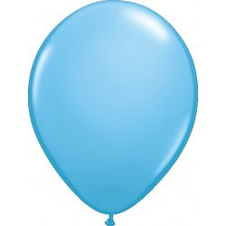 Ballon latex 11 po Bleu pâle  / sac de 100