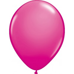 Hélium - Ballon latex 11 po - Fushia