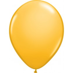 Ballon latex 11 po - Goldenrod  / sac de 100