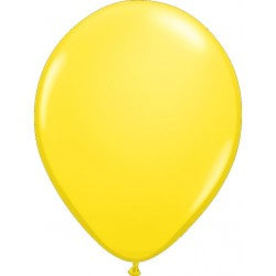 Hélium - Ballon latex 11 po - Jaune