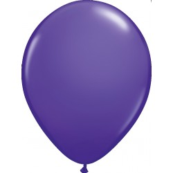 Ballon latex 11 po Mauve  / sac de 100