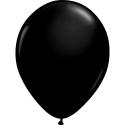 Ballon latex 11 po Noir / sac de 100