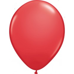 Ballon latex 11 po Rouge  / sac de 100
