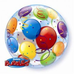 Ballon Bubble 22 po - motif Ballon