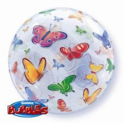Ballon bubble 22 po - Papillon