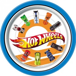 Assiette 9po Hot Wheel