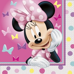 Serviettes de table Minnie